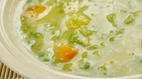 Allemand Erbsensuppe Image stock