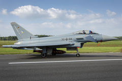 Allemand Eurofighter Photographie stock