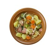 Allemand Kohlsuppe Images stock