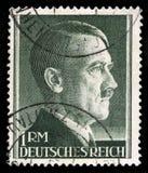 Allemand Reich Postage Stamp à partir de 1945 Photo libre de droits