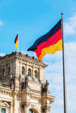 Allemand Reichstag à Berlin, Allemagne Image stock