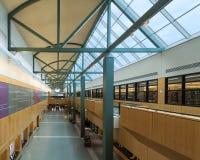 Allen County Public Library av Fort Wayne royaltyfri fotografi