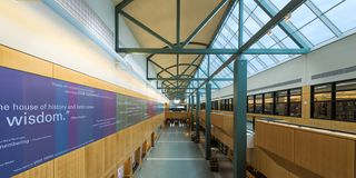 Allen County Public Library di Fort Wayne fotografia stock libera da diritti