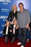 Allen Covert. And family  at the 'Jack and Jill' World Premiere, Village Theater, Westwood, CA 11-06-11 Royalty Free Stock Photo
