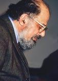 Allen Ginsberg Fotografia Stock Libera da Diritti