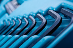 Allen hex keys Royalty Free Stock Photo