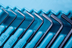 Allen hex keys Stock Images