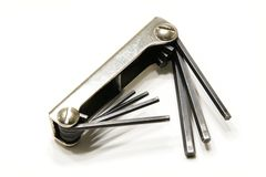 Allen key Royalty Free Stock Images