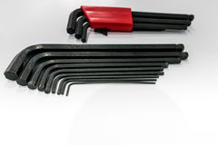 Allen key hand tools set. Stock Images