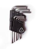 Allen key set Stock Images
