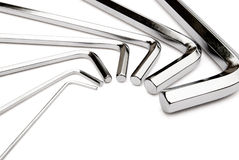 Allen key set Stock Image