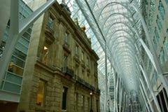 Allen Lambert Galleria in Brookfield-Platz, Toronto Stockbild