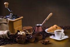 Allen over koffie Royalty-vrije Stock Foto's