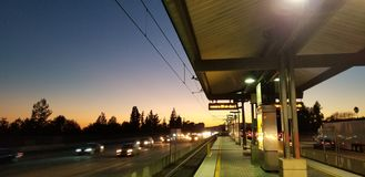 Allen Station in Los Angeles stockbilder