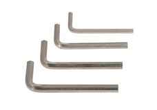 Allen wrench hexahedrons Stock Images