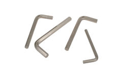 Allen wrench hexahedrons Stock Image