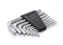 Allen wrench set Royalty Free Stock Photo