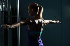 Allenamento della spalla Fotografia Stock