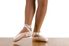 Allenamento di balletto di Devant di punto Fotografia Stock