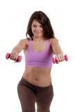 Allenamento di Pilates Immagini Stock Libere da Diritti
