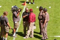 Allenatore di football americano della testa della condizione della Florida Fotografia Stock