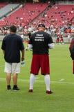 Allenatore di football americano Training Camp di Arizona Cardinals del NFL Fotografia Stock Libera da Diritti