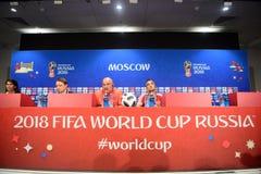 Allenatore nazionale russo Stanislav Cherchesov della squadra di football americano Fotografie Stock Libere da Diritti