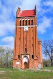 Allenburg Luterański kościół Zdjęcie Stock