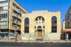 Allenby street, Tel-Aviv Royalty Free Stock Images