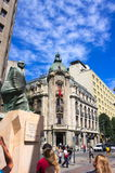 Allende μνημείο ΙΙΙ - Σαντιάγο Χιλή στοκ φωτογραφίες
