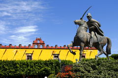 allende ja Ignacio statua zdjęcie stock
