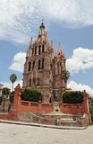 allende parroquia SAN Λα Miguel Στοκ Φωτογραφία