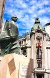 Allende pomnik V - Santiago Chile Zdjęcia Royalty Free