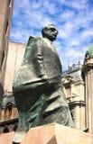 Allende pomnik VI - Santiago Chile zdjęcie stock