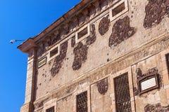 Allende Window Alhondiga de Granaditas Guanajuato Messico Fotografia Stock Libera da Diritti
