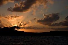 Allens Cay, Exumas, Bahamas Lizenzfreie Stockbilder