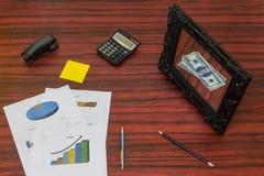 Allentare concetto dei soldi Fotografia Stock Libera da Diritti