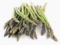 Allenti la pila di lance dell'asparago fotografia stock libera da diritti