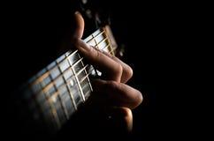 Allenti la vostra anima nella musica Immagini Stock