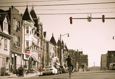 Allentown i stadens centrum gata Royaltyfri Fotografi