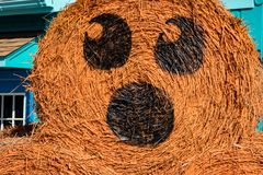 ALLENTOWN, PA - 22 DE OCTUBRE: Decoraciones de Halloween en el parque de Dorney en Allentown, Pennsylvania Fotos de archivo libres de regalías
