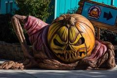 ALLENTOWN, PA - 22 DE OCTUBRE: Decoraciones de Halloween en el parque de Dorney en Allentown, Pennsylvania Fotografía de archivo