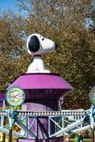 ALLENTOWN, PA - 22 DE OCTUBRE: Planeta Snoopy en el parque de Dorney en Allentown, Pennsylvania Imagen de archivo