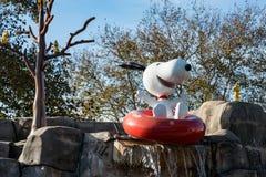 ALLENTOWN, PA - 22 DE OCTUBRE: Planeta Snoopy en el parque de Dorney en Allentown, Pennsylvania Fotos de archivo libres de regalías