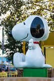 ALLENTOWN, PA - 22 DE OCTUBRE: Planeta Snoopy en el parque de Dorney en Allentown, Pennsylvania Imágenes de archivo libres de regalías