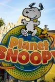 ALLENTOWN, PA - PAŹDZIERNIK 22: Planeta Snoopy przy Dorney parkiem w Allentown, Pennsylwania Obrazy Royalty Free
