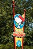ALLENTOWN, PA - PAŹDZIERNIK 22: Planeta Snoopy przy Dorney parkiem w Allentown, Pennsylwania Zdjęcie Stock
