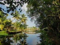 Alleppey, Índia fotos de stock royalty free