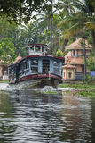 ALLEPPEY, KERALA, INDIA - AUGUST 16, 2016: Unidentified indian p Royalty Free Stock Image