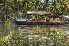 ALLEPPEY, KERALA, INDIA - AUGUST 16, 2016: Unidentified indian p Stock Photo
